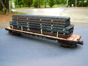 O Scale Dimensional Steel Beam Load 288