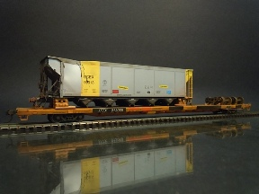 Wreck Damaged Coal Hopper 2